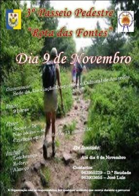 Rota - 2014/11/09 - 3º Passeio Pedestre – Rota das Fontes - Amarelos - Vila Velha de Ródão 1415033555-rota-das-fontes