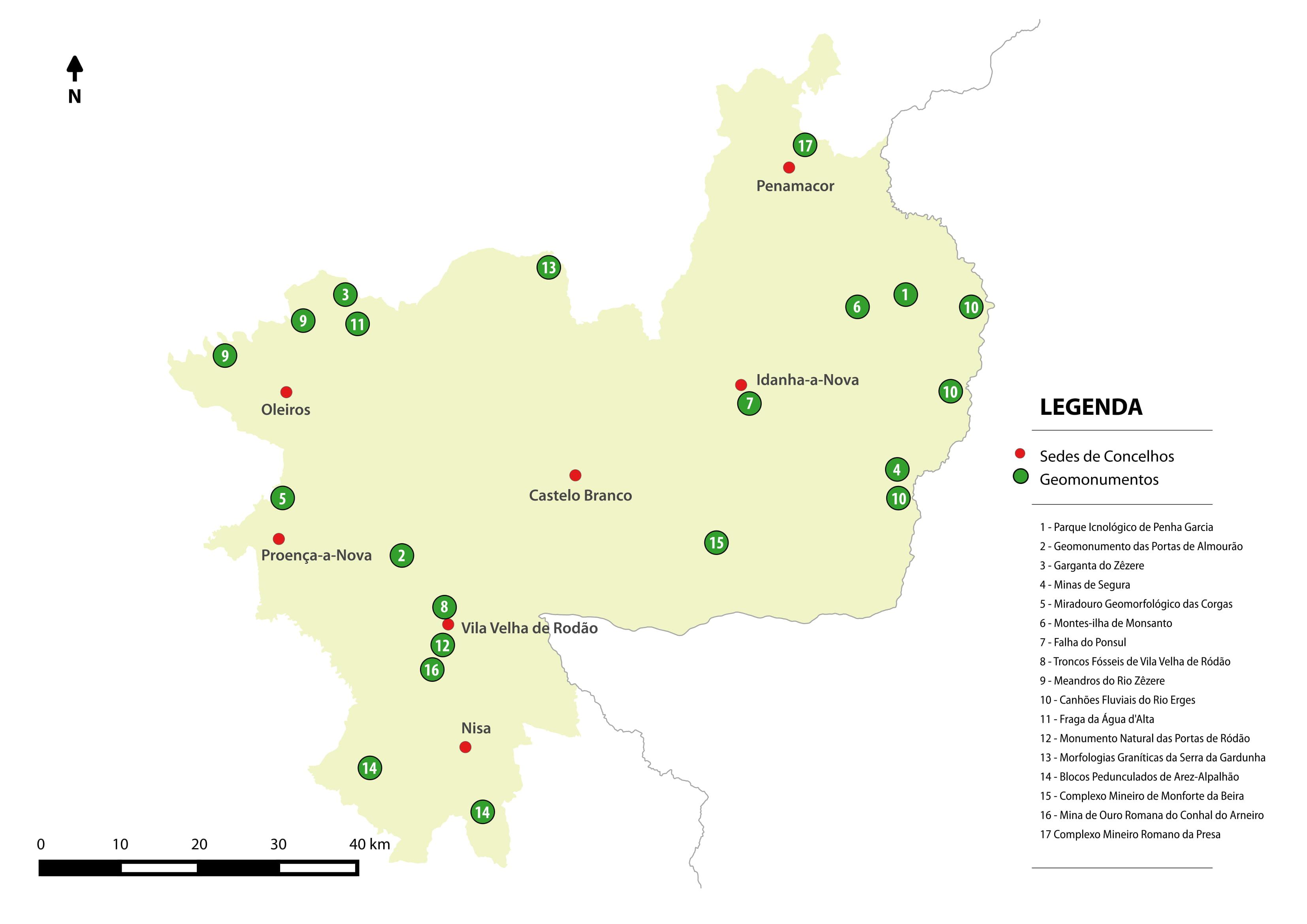 mapa de minas de ouro em portugal Geopark Naturtejo mapa de minas de ouro em portugal